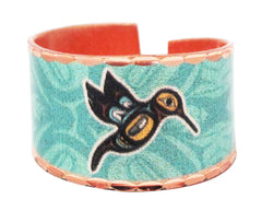 'Hummingbird' Artist Collection Copper Ring - Oscardo