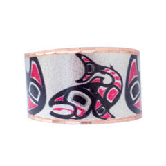 Salmon Artist Collection Copper Ring