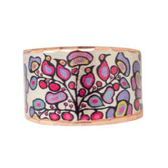 Woodland Floral Artist Collection Copper Ring