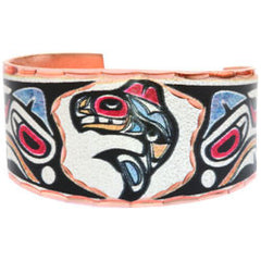 Native Orca Colourful NW Native Ring