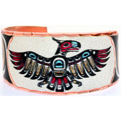 Native Thunderbird Colourful NW Native Ring