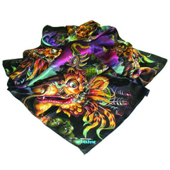Off-set Photo Printed Silk Scarf