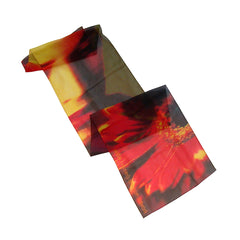 Off-set Printed Chiffon Scarf