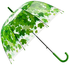Bubble Maple Leaf Umbrella - Green