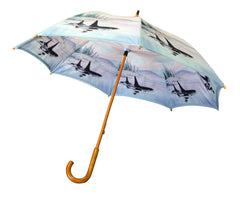 Sue Coleman Whale Double Layer Umbrella