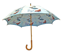 'Butterflies' Double Layer Umbrella - Oscardo