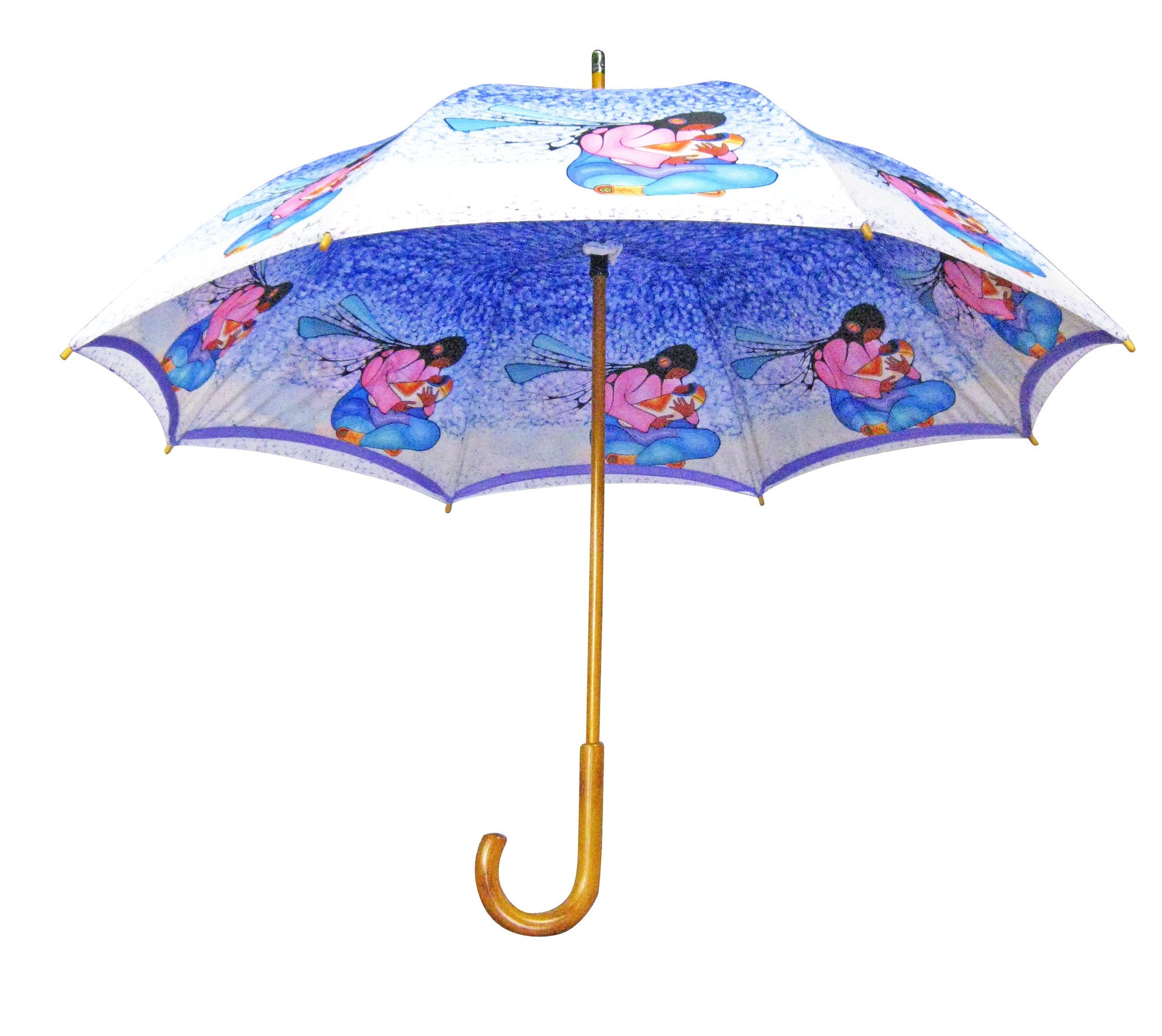 Cecil Youngfox Joyous Motherhood Double Layer Umbrella