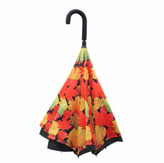 Fall Leaves Artist Up-Umbrella