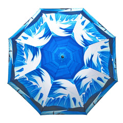 Lawren Harris Lake and Mountains Artist Collapsible Umbrella