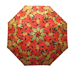 Fall Leaves Artist Collapsible Umbrella