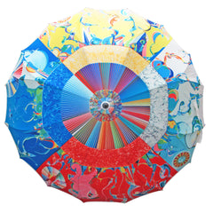 Alex Janvier Morning Star Artist Full Panel Umbrella