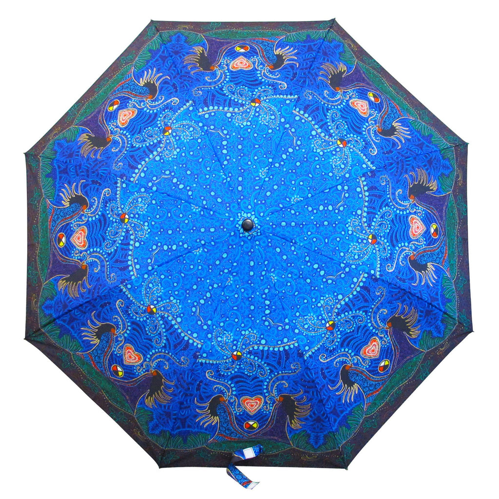 Leah Dorion Breath of Life Artist Collapsible Umbrella