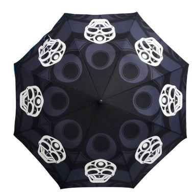 James Johnson Skull Artist Collapsible Umbrella - Oscardo