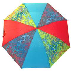 Full Colour Printed Umbrella with different colour panels