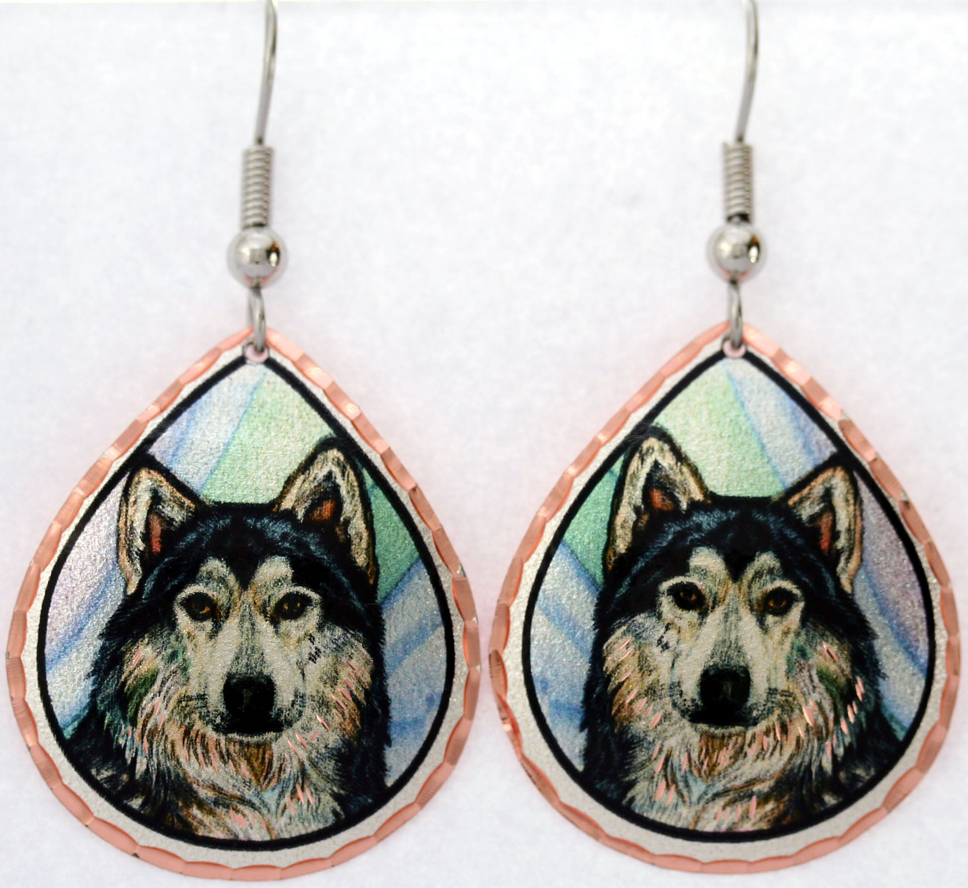 Wolf Colourful Lynn Bean Earrings