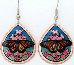 Butterfly Colourful Lynn Bean Earrings