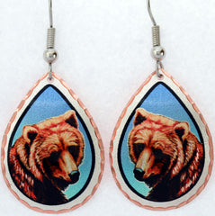 Bear Colourful Lynn Bean Earrings