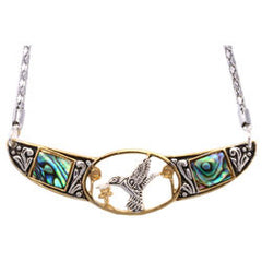 Native Hummingbird Abalone Choker