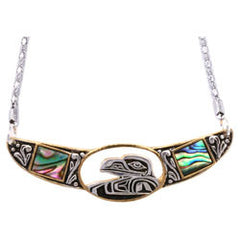 Native Eagle Abalone Choker