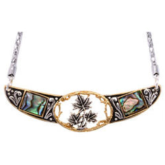 Maple Leaf Abalone Choker