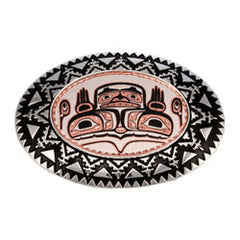 Native Bear Belt Buckle
