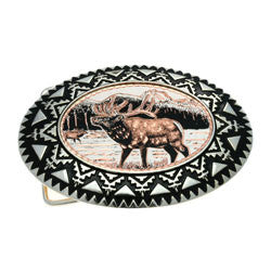 Elk Belt Buckle