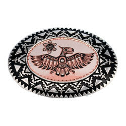 Native Thunderbird Belt Buckle