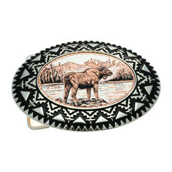 Moose Belt Buckle