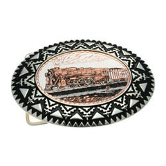 Train Belt Buckle