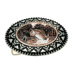 Fishing Belt Buckle