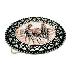 Western Cowboy Horse Riding Belt Buckle