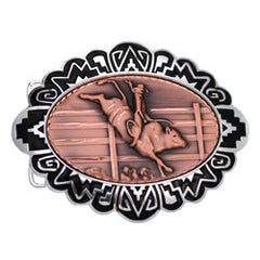 Bucking Horse Embossed Belt Buckle