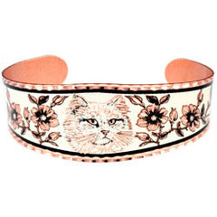Cat Copper Bracelet