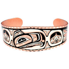 Native Eagle Copper Bracelet