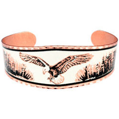 Eagle Copper Bracelet