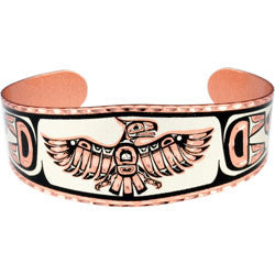 Native Thunderbird Copper Bracelet