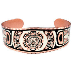 Native Sun Copper Bracelet