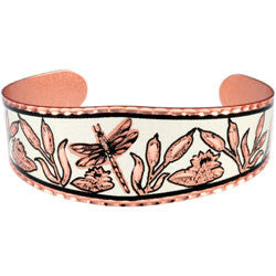 Dragonfly Copper Bracelet
