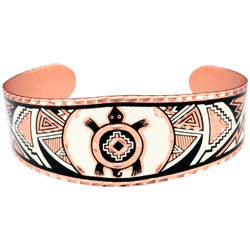 Native Turtle Copper Bracelet