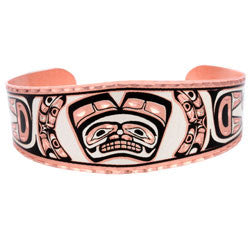 Native Bear Copper Bracelet
