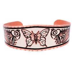 Native Butterfly Copper Bracelet