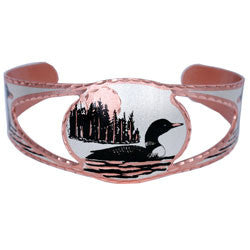Loon Copper Cut-out Bracelet