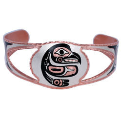 Native Eagle Copper Cut-out Bracelet