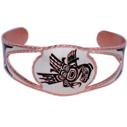 Native Thunderbird Copper Cut-out Bracelet