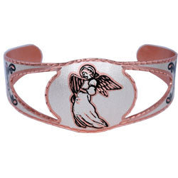Angel Copper Cut-out Bracelet