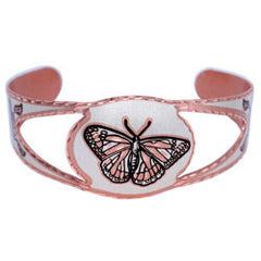 Butterfly Copper Cut-out Bracelet