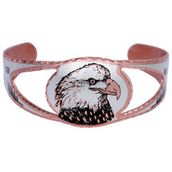 Eagle Copper Cut-out Bracelet