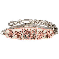 Butterfly Copper Chain Bracelet