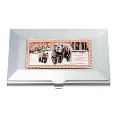 Bear and Cub Business-Credit Card Case