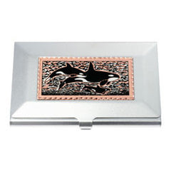 Killer Whale Business-Credit Card Case